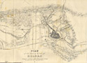 """Plan of the town and vicinity of Bilbao""."